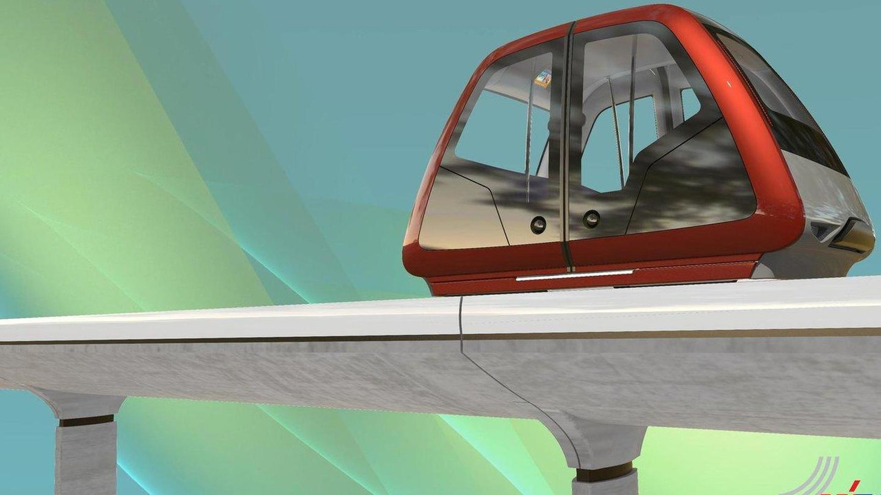 Vectus Personal Rapid Transit, Pininfarina exhibition at London 2012 18.06.2012