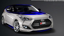 Hyundai Veloster Alpine Concept by ARK Performance heading to SEMA