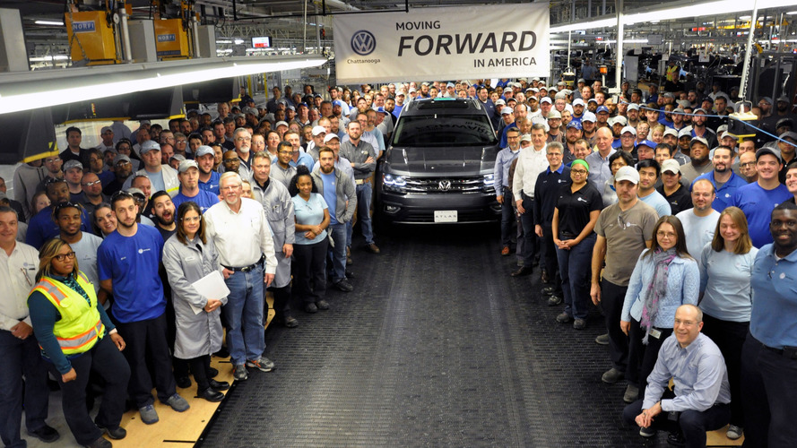 2018 VW Atlas production begins in Chattanooga