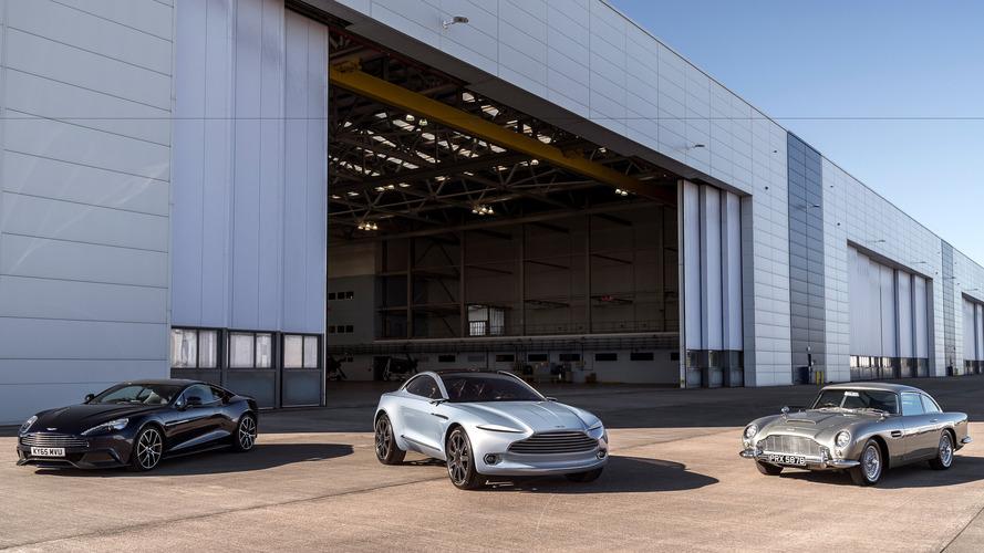 Nouvelle usine Aston Martin : c'est parti !