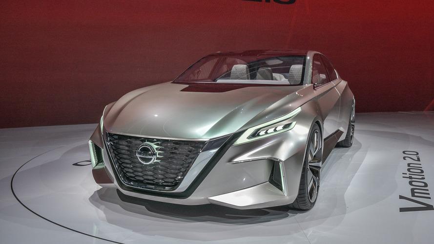 Nissan Vmotion 2.0 aponta para o futuro dos sedãs da marca