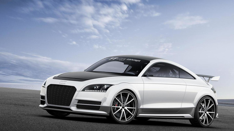 Audi TT ultra quattro concept breaks cover