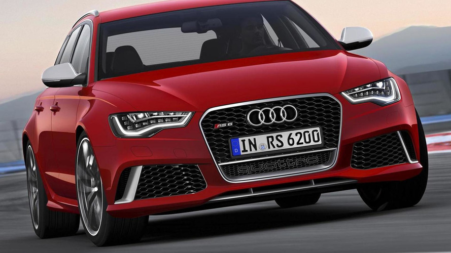 2014 Audi RS6 Avant leaks to the web