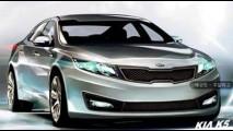 Este é o Novo Kia Magentis 2012! Sedan ganhará visual mais esportivo