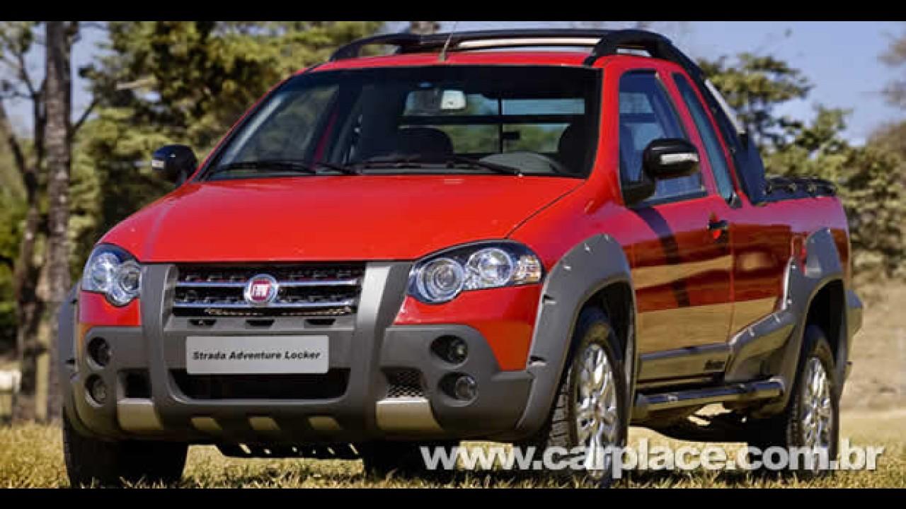 Nova Fiat Strada Adventure Locker com cabine dupla será lançada oficialmente em junho