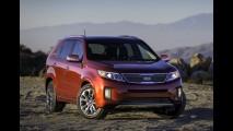 Novo Kia Sorento para o mercado norte-americano também está sendo apresentado em Los Angeles