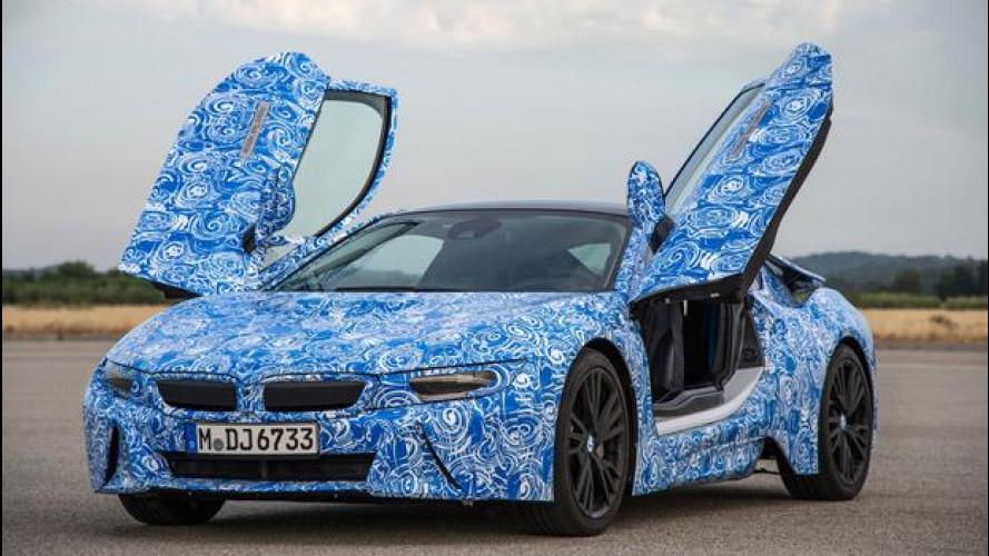 BMW i8, l'ibrida da 362 CV e 2,5 l/100 km