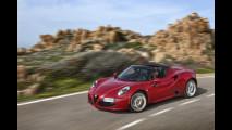 Alfa Romeo 4C Spider, la versione americana
