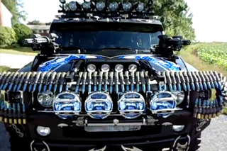 Black Knight Hummer is a Zombie Killing Party Machine