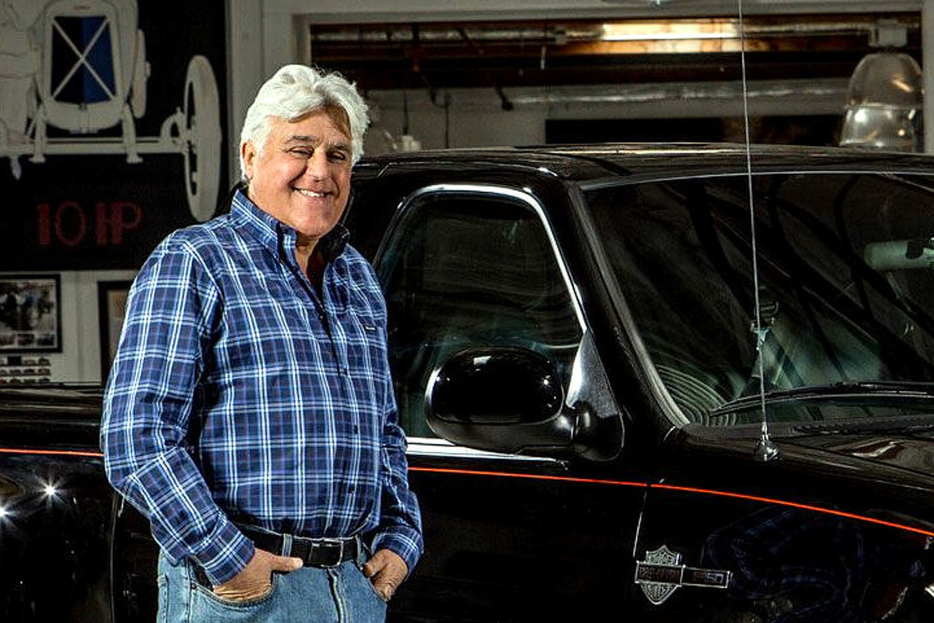 Jay Leno to Auction Off One-Of-A-Kind Ford F-150 for Charity