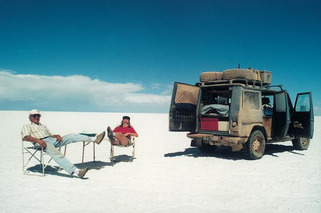 The Mercedes-Benz G-Wagen and the Man Who Took It Around the World