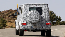 Next-gen Mercedes-Benz G-Class spy photo