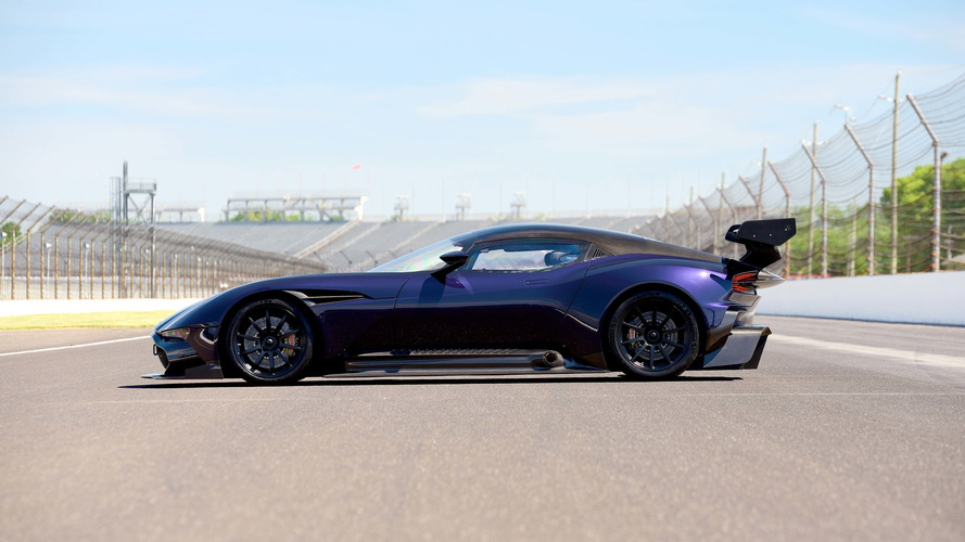 Purple Aston Martin Vulcan Up For Auction, Again [UPDATE]