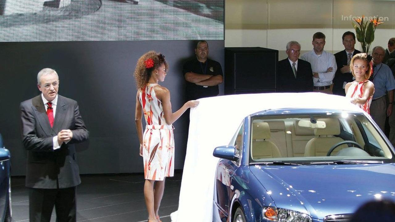 Audi Press Conference - Paris Motor Show 2004