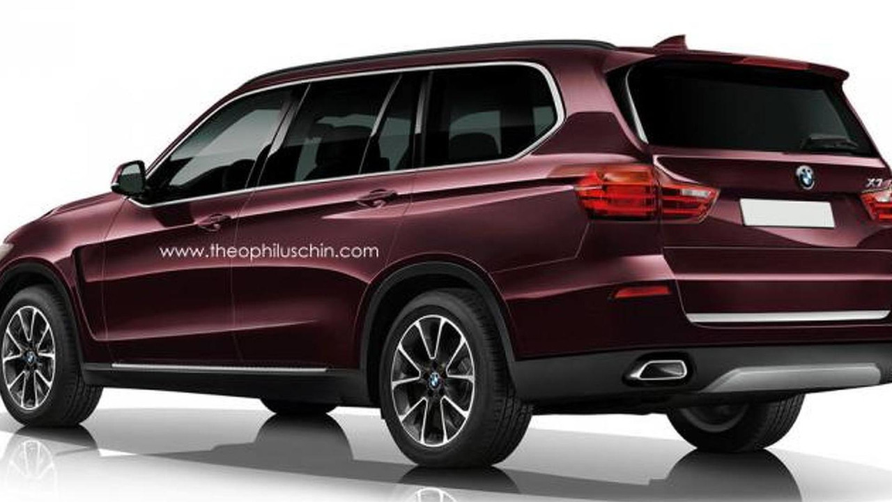 BMW X7 rendering / Theophilus Chin