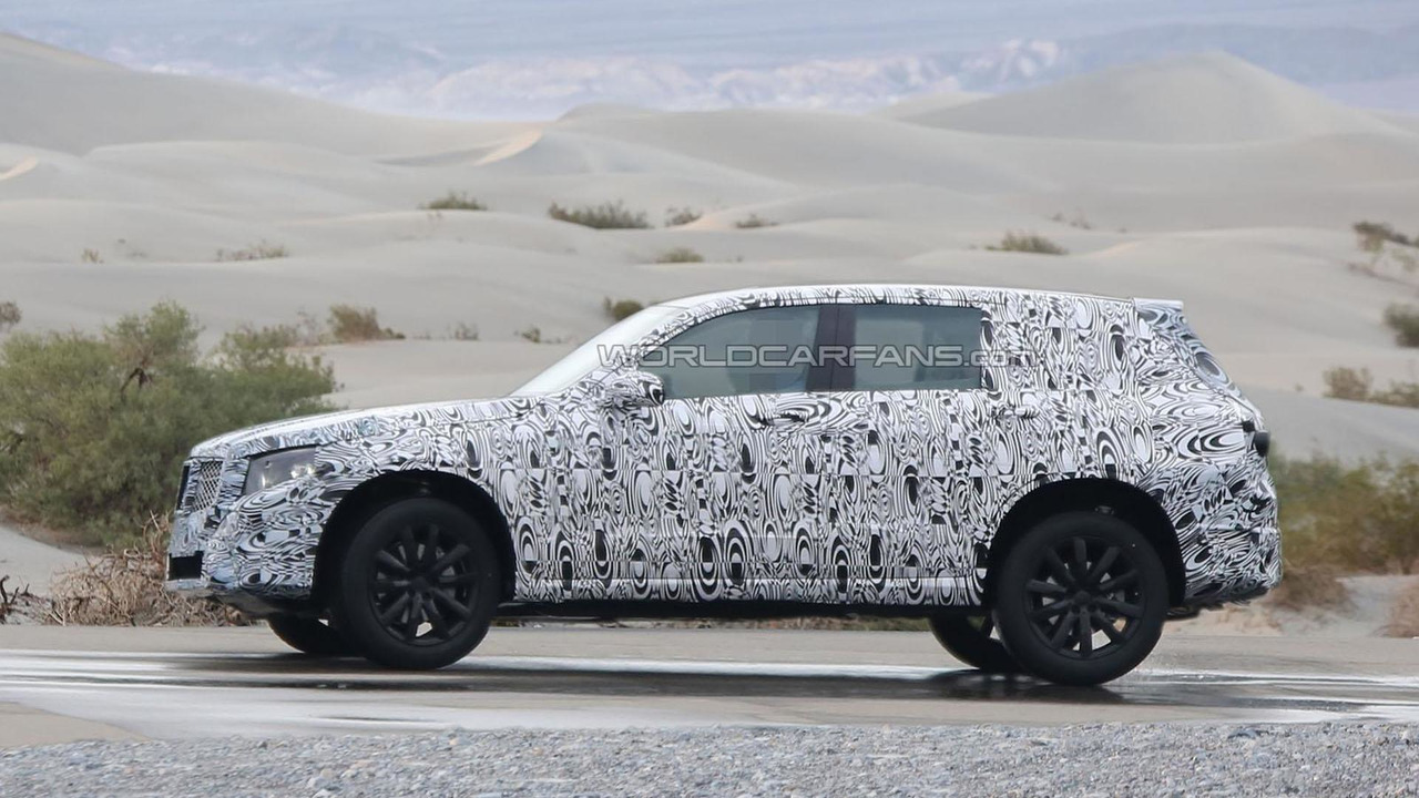 2015 Mercedes GLK spy photo