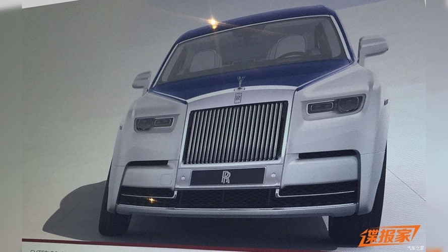 Kiszivárgott fotókon látható a 2018-as Rolls Royce Phantom?