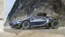 Bugatti Chiron Battle Car