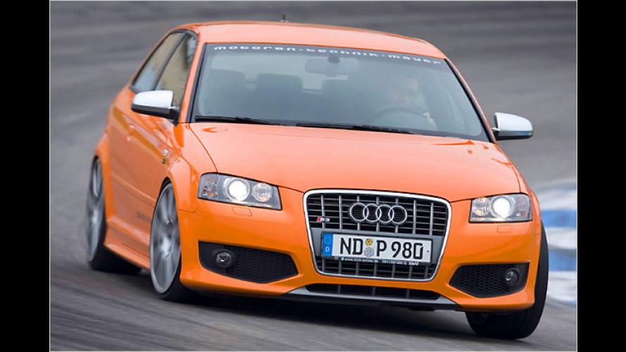 Tuner MTM macht den Audi S3 zur 330-PS-Rakete