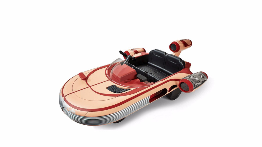 Radio Flyer Making Kid-Sized, Driveable Version of Star Wars Landspeeder