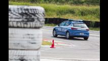 Seat Leon della Polizia in pista a Franciacorta