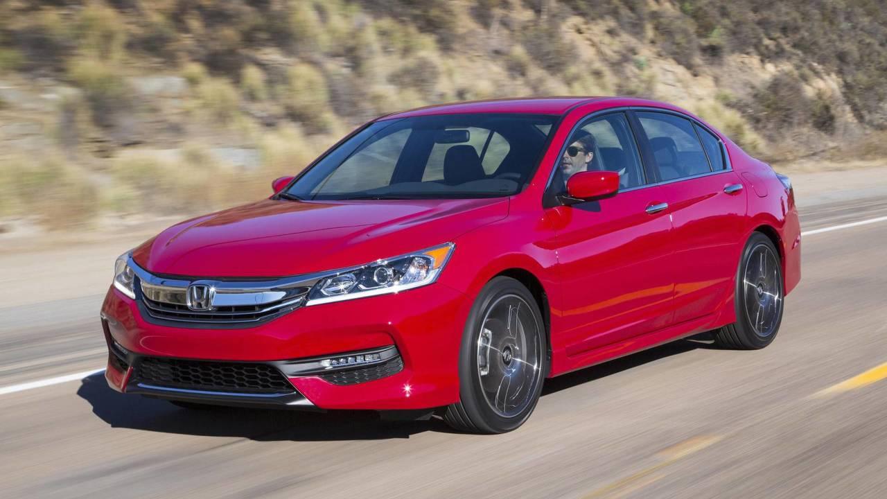 2. Sedans: Honda Accord