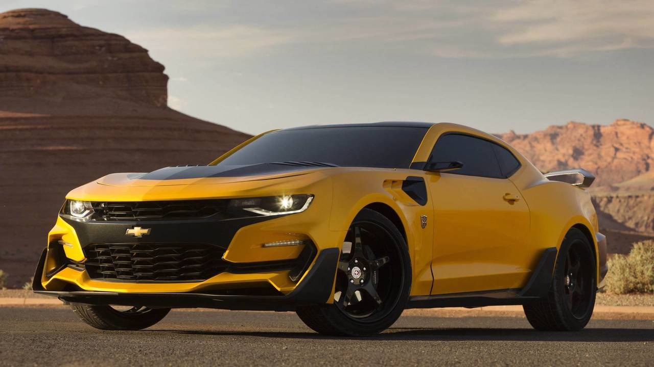 Chevrolet Camaro - Transformers