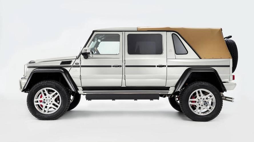 Dernier Mercedes-Maybach G650 Landaulet