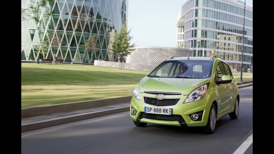Chevrolet Spark elettrica: in arrivo gli USA