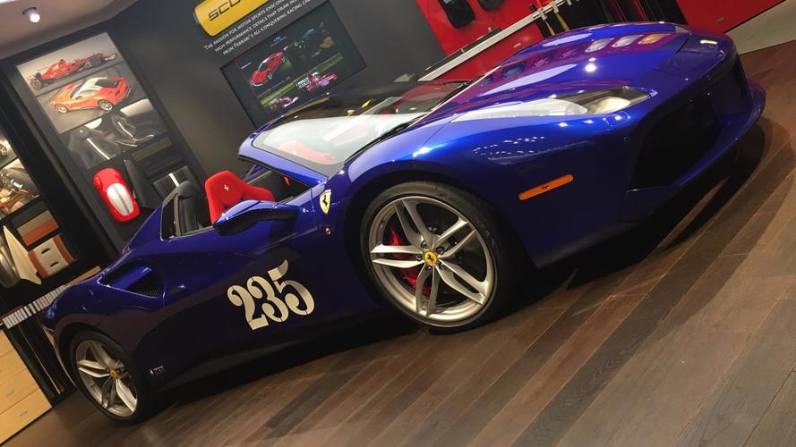 Ferrari 488 Spider 70 Aniversario, expuesto en Frankfurt