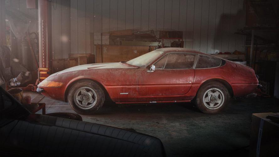 2.1 millió dollárért kelt el a pajtában talált különleges Ferrari Daytona