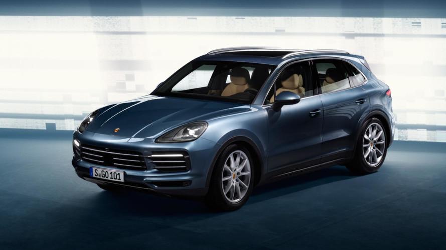 Yeni Porsche Cayenne fotoğrafları sızdı!