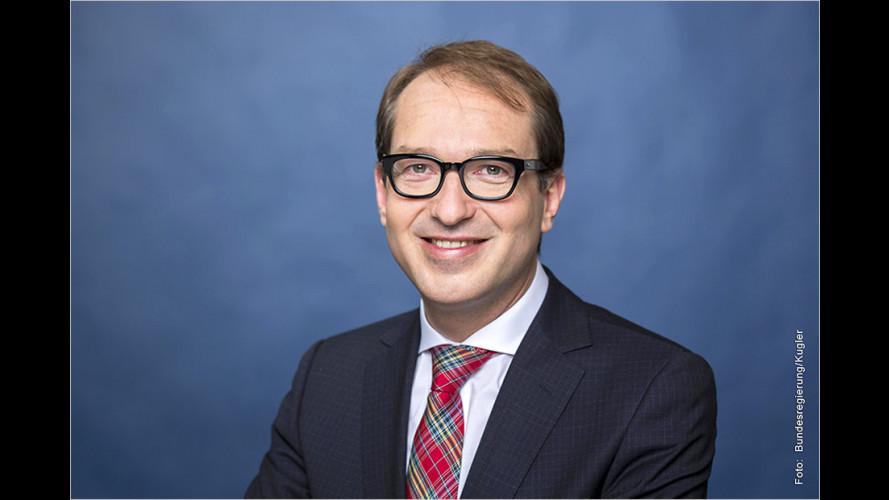 Verkehrsminister Dobrindt zieht Porsche Cayenne aus dem Verkehr