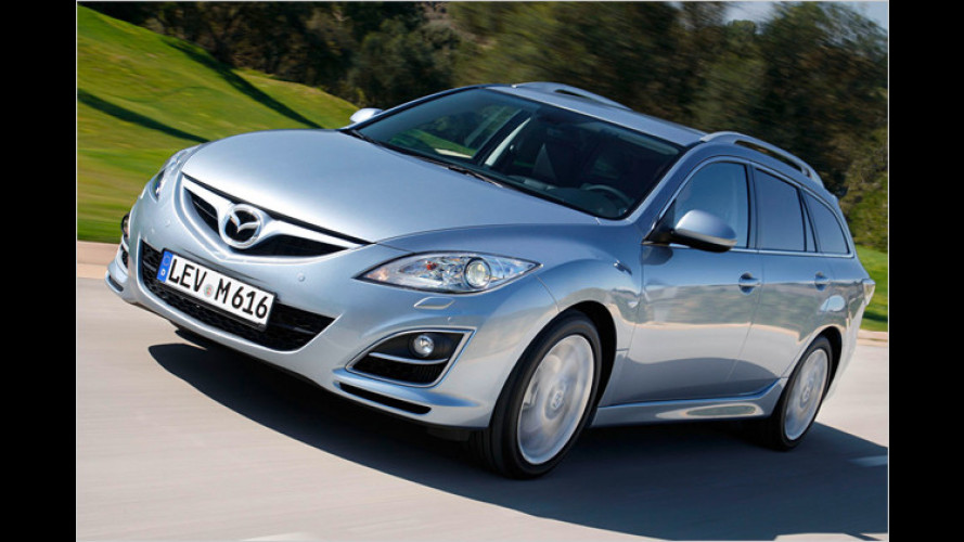 Geschickt geliftet: Der überarbeitete Mazda 6 im Test