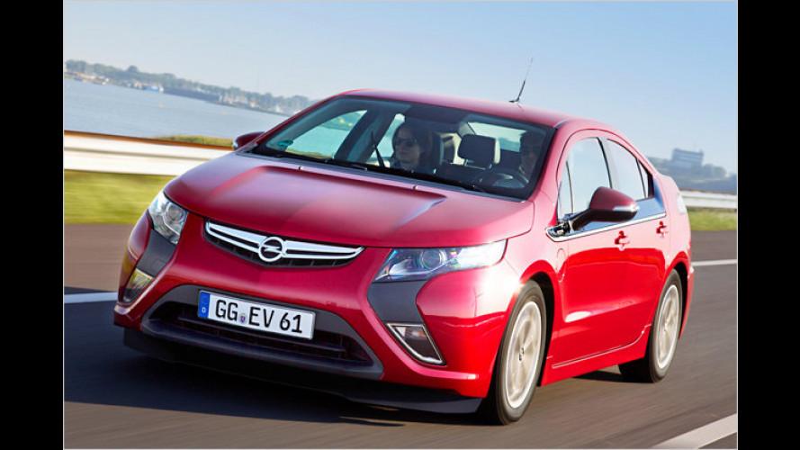 Entspanntes Dahingleiten: Der Opel Ampera im Test