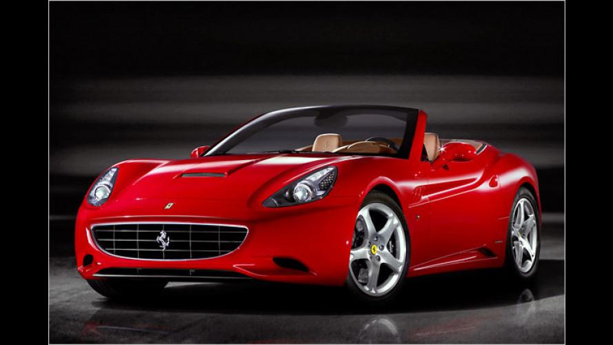 Rückkehr des Ferrari California als 2+2-sitziges Cabriolet