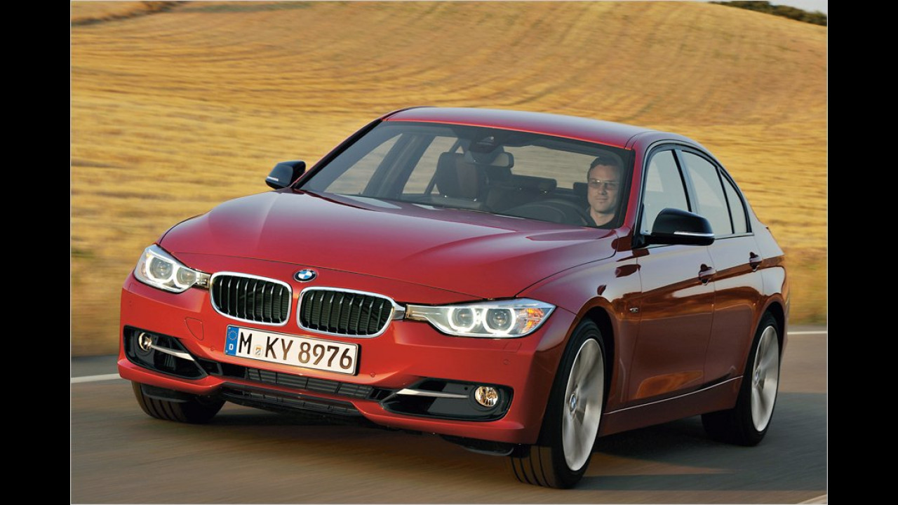Februar: BMW 3er