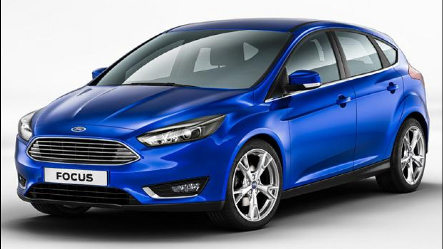 Ford Focus restyling, l'auto che