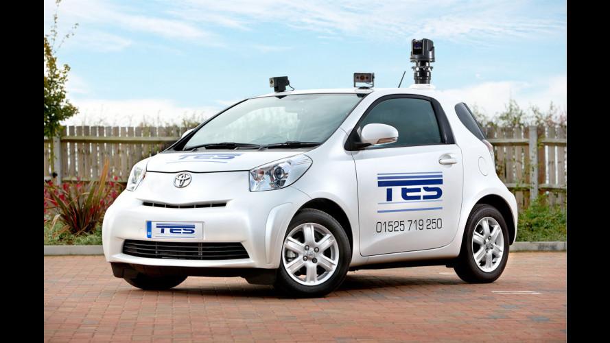La Toyota iQ è pronta ad arruolarsi in polizia