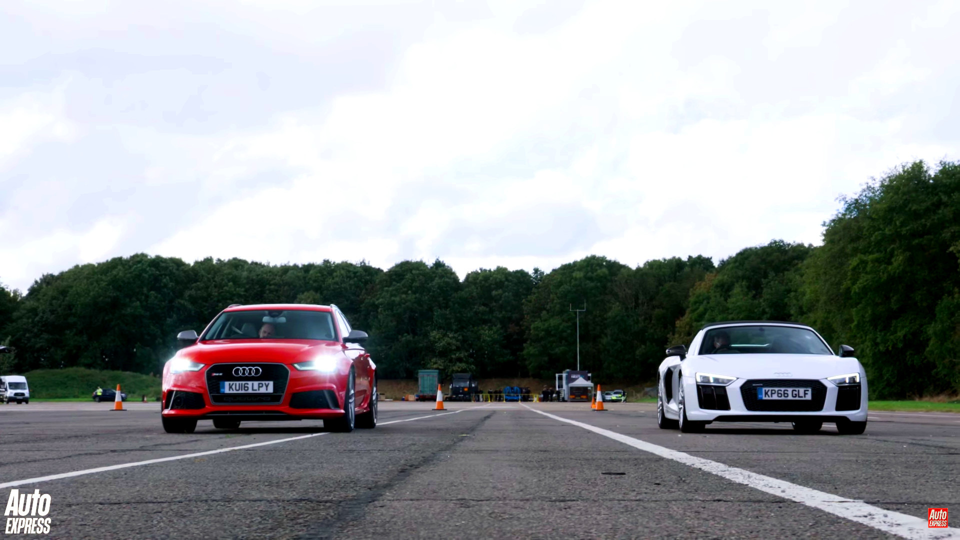 Can An Audi Rs6 Beat A R8 Spyder In A Drag Race