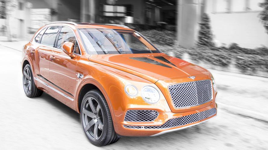 700 chevaux pour le Bentley Bentayga