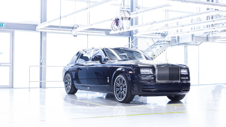 La dernière Rolls-Royce Phantom VII est sortie de l'usine