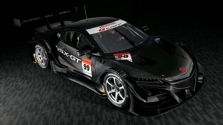 Hırçın görünen Honda NSX-GT, Super GT'ye hazır