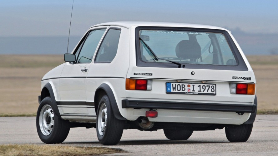 Volkswagen volta a fabricar peças do Golf GTI da primeira geração após 40 anos