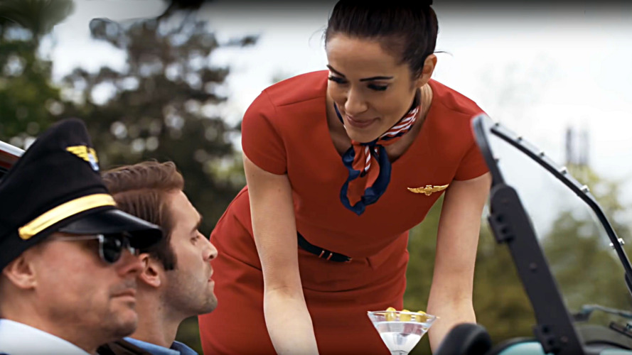 Join Caterham Airways for a safety demonstration