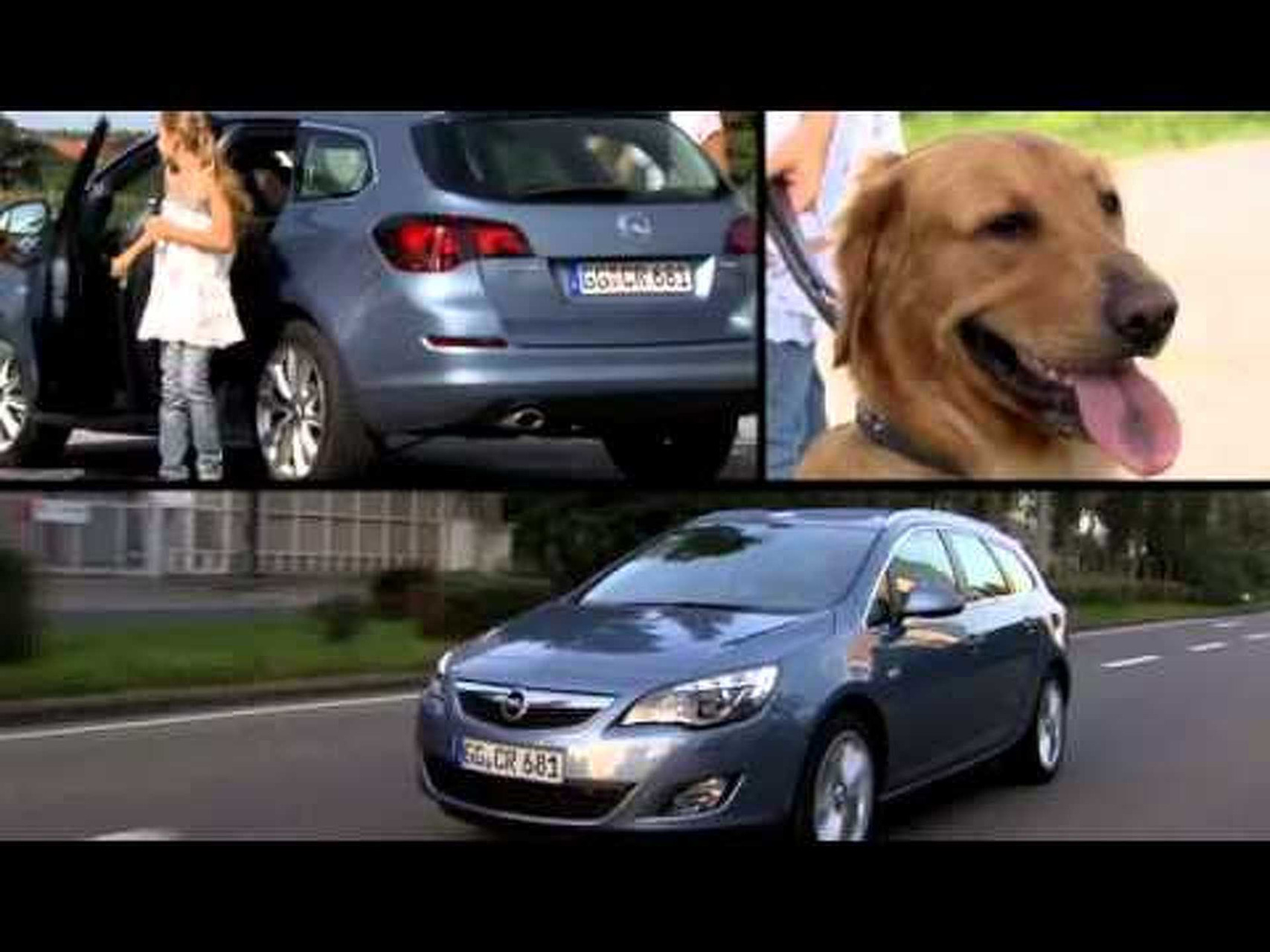 Opel Astra Sports Tourer Trailer