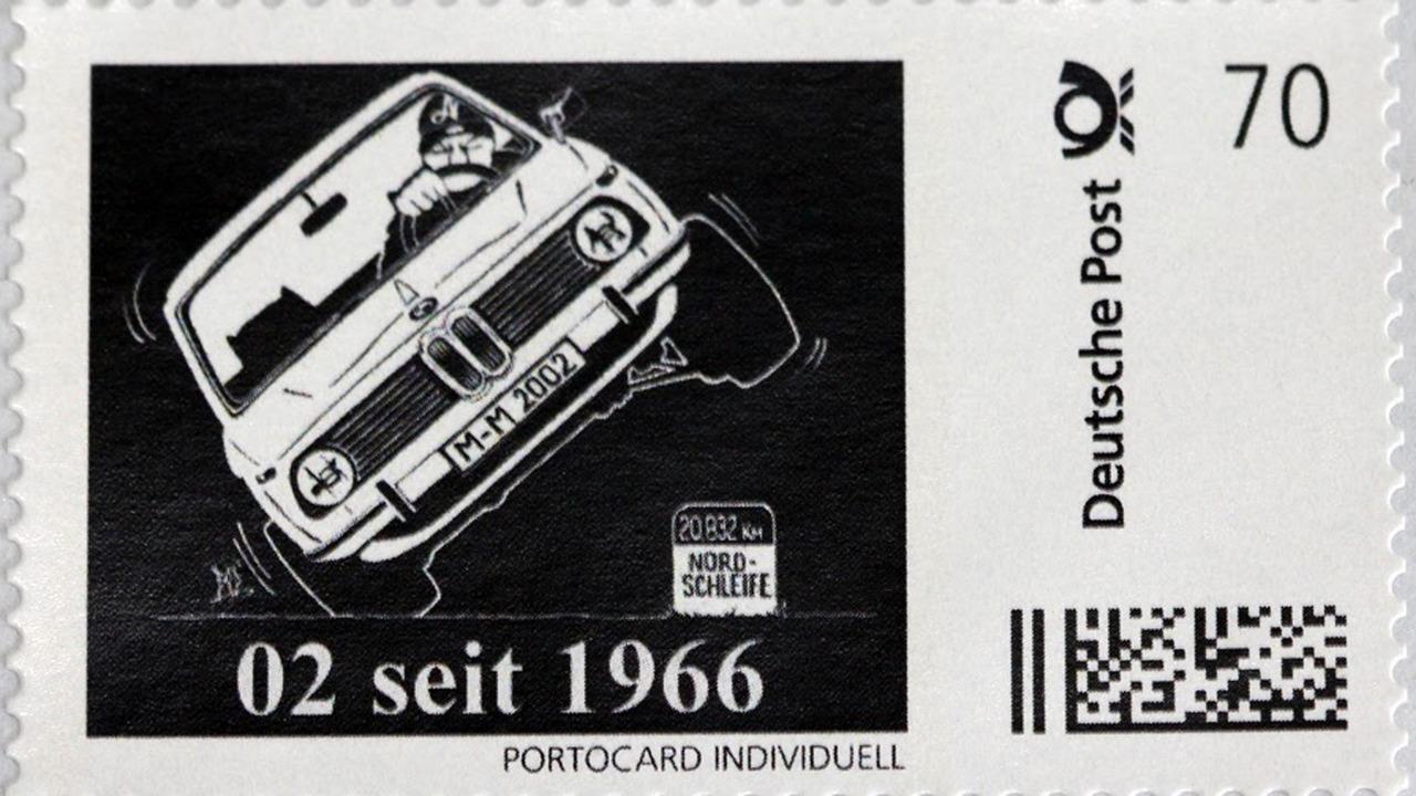 BMW 2002 Stamp