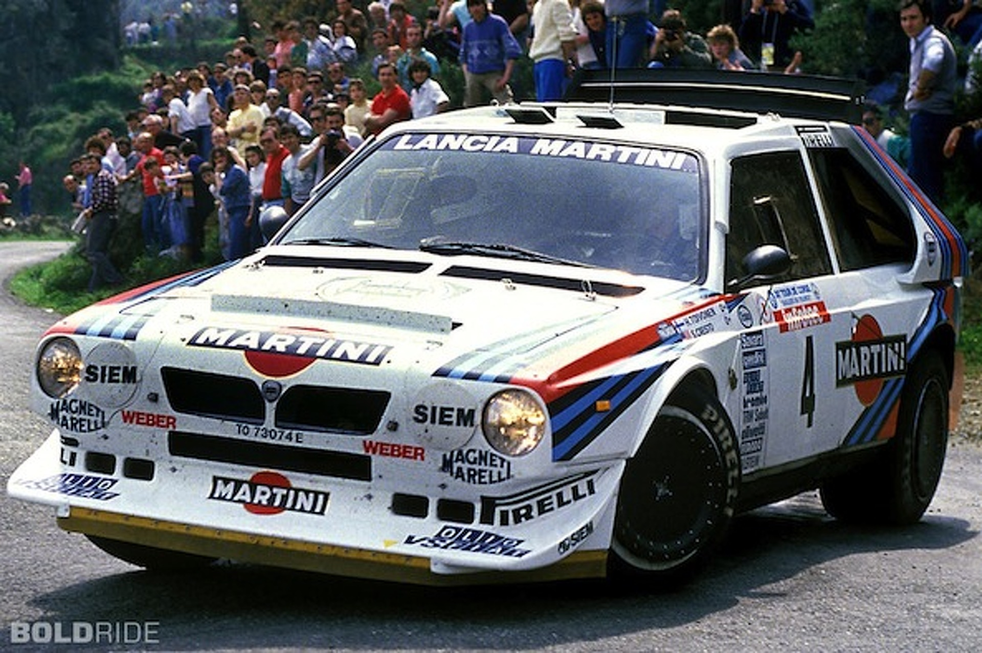 Wheels Wallpaper: 1985 Lancia Delta S4 Gruppo B