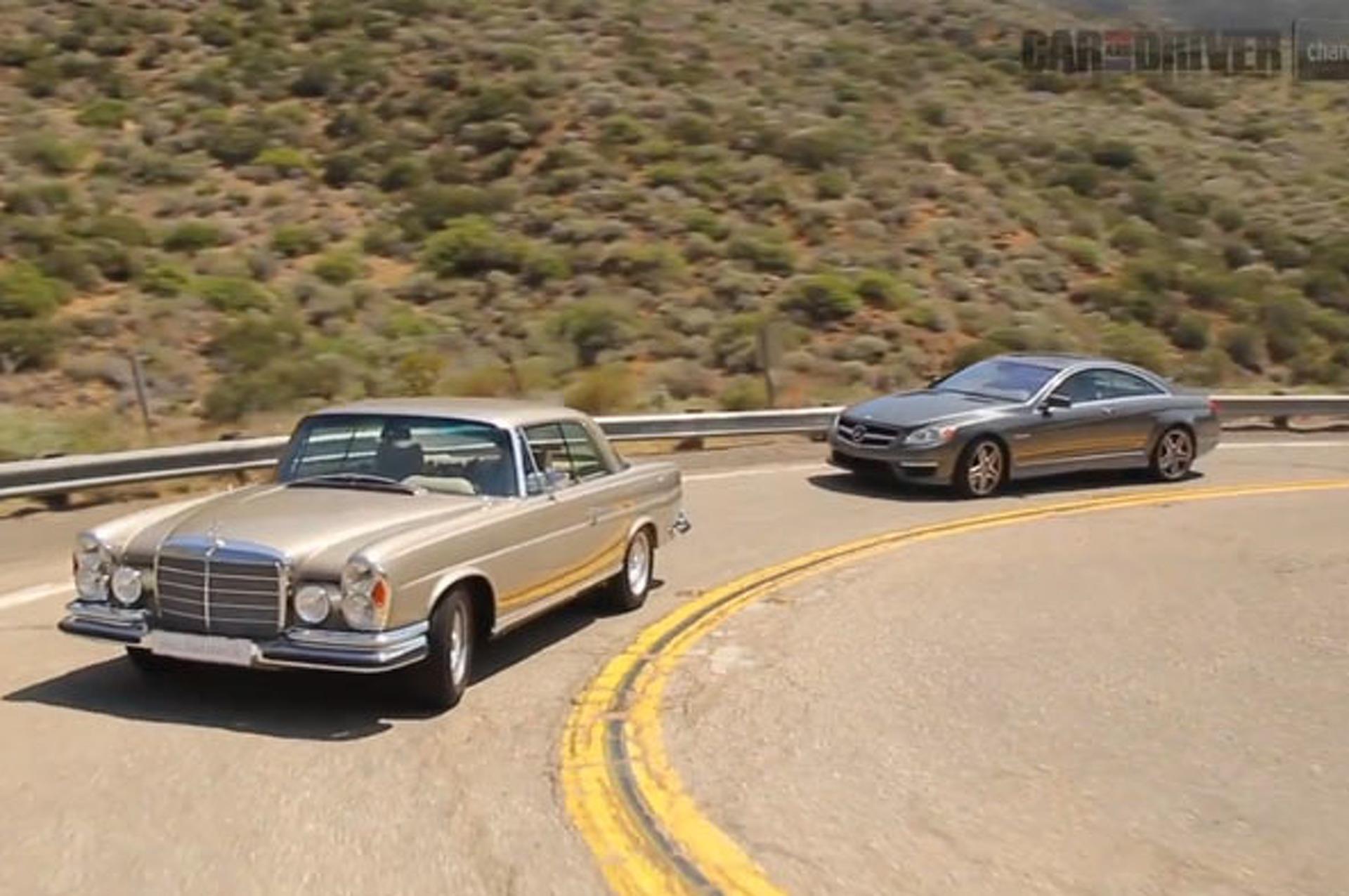 VIDEO: Mechatronik 280 SE vs Mercedes-Benz CL63 AMG