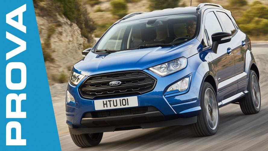 Ford EcoSport, il riscatto del piccolo SUV
